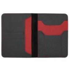 Автобумажник Hakuna Matata, черный с красным