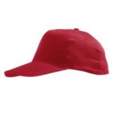 Бейсболка SUNNY, красная