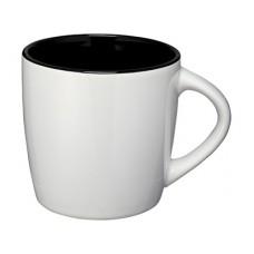 Керамическая чашка Aztec, белый/черный