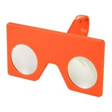 Мини виртуальные очки с клипом, оранжевый